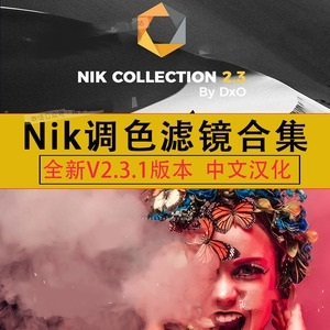 【插件】PS调色插件 DxO Nik Collection 2.3.1 版本,Win/Mac中文Color Efex Pro 4